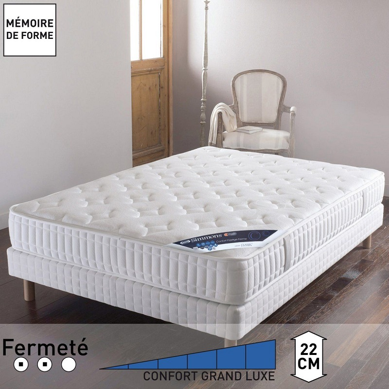 matelas no flip ressorts ensach s sensoft confo simmons. Black Bedroom Furniture Sets. Home Design Ideas