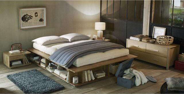 lit rangement presto la redoute interieurs lit la redoute pas cher ventes pas. Black Bedroom Furniture Sets. Home Design Ideas