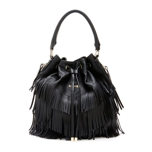 Sac seau Carmen franges Guess