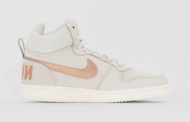 Baskets montantes court Borough Prem gris Nike