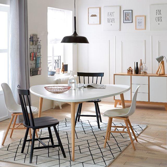 Table de salle manger 6 personnes jimi la redoute for Table de salle a manger la redoute
