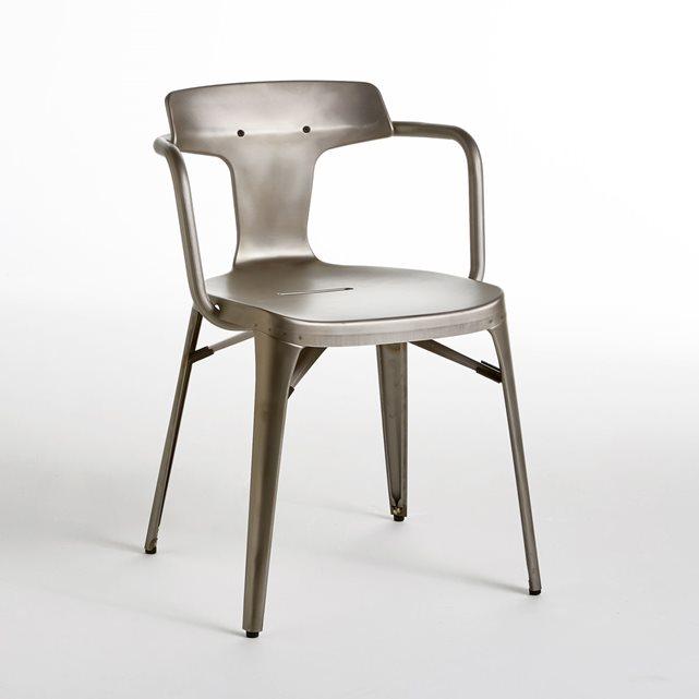 Fauteuil t14 tolix acier verni satin am pm fauteuil am pm ventes pas che - Fauteuil la redoute ampm ...