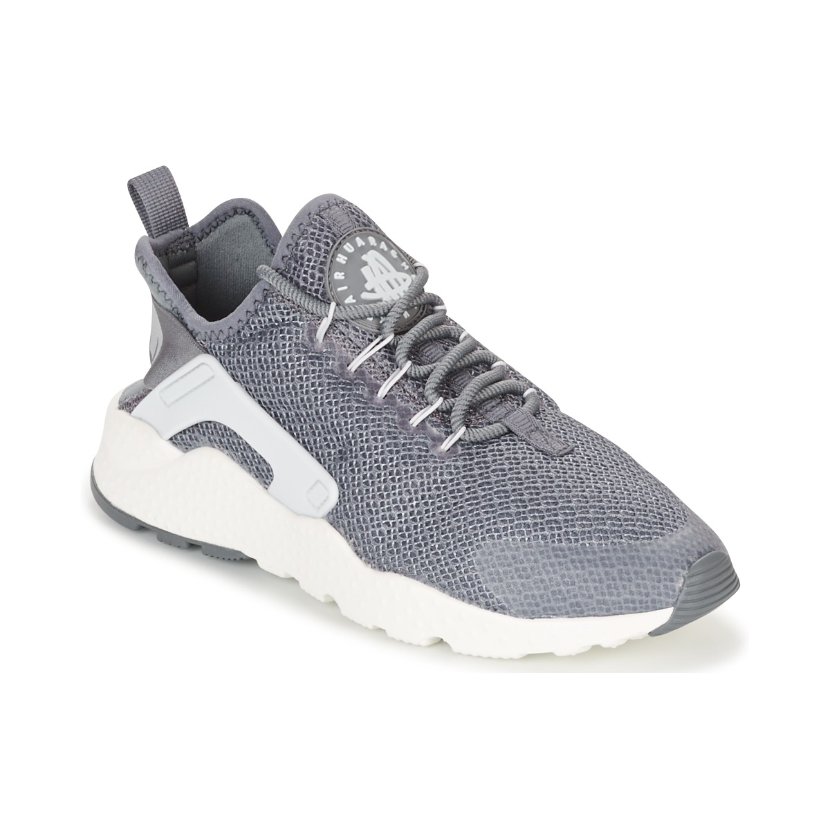 nike air huarache run ultra w gris pas cher baskets femme spartoo ventes pas. Black Bedroom Furniture Sets. Home Design Ideas
