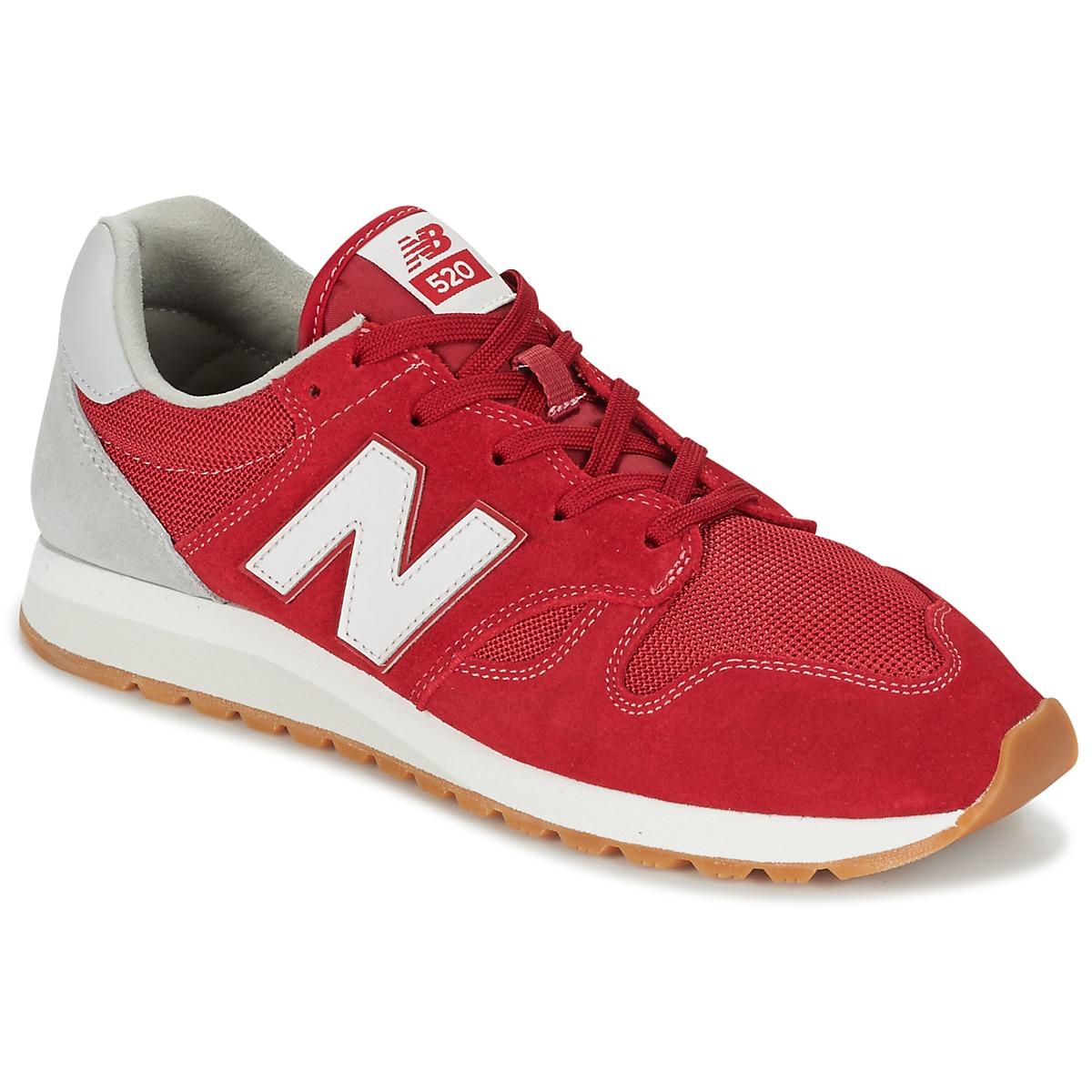 New Balance U520 Rouge