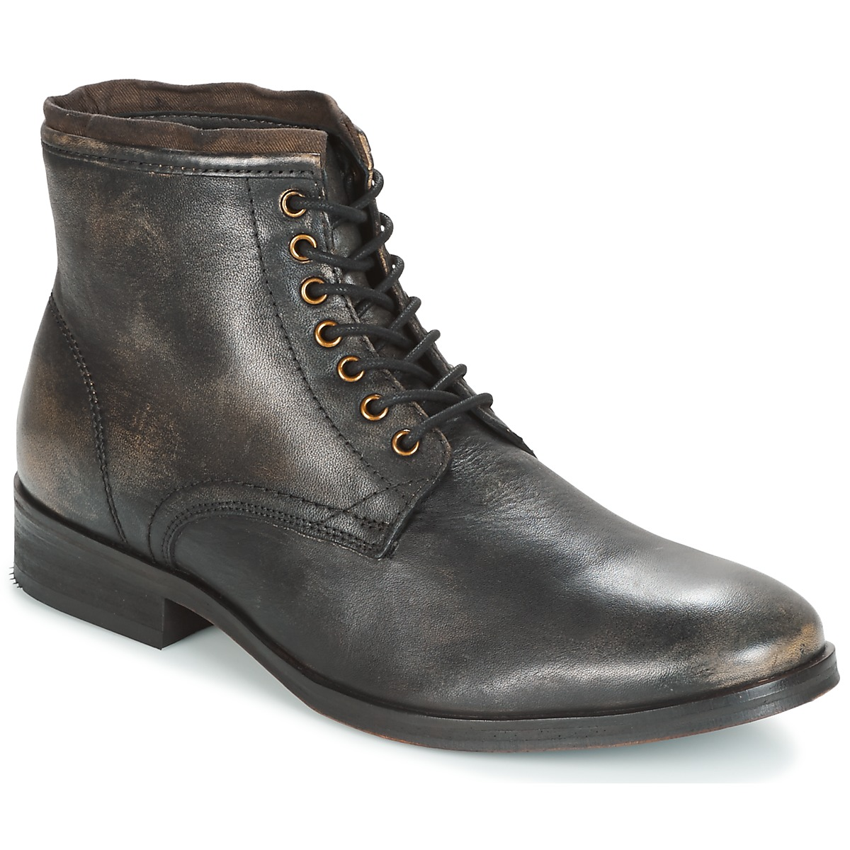 Frank Wright CLYDE Noir Boots Homme