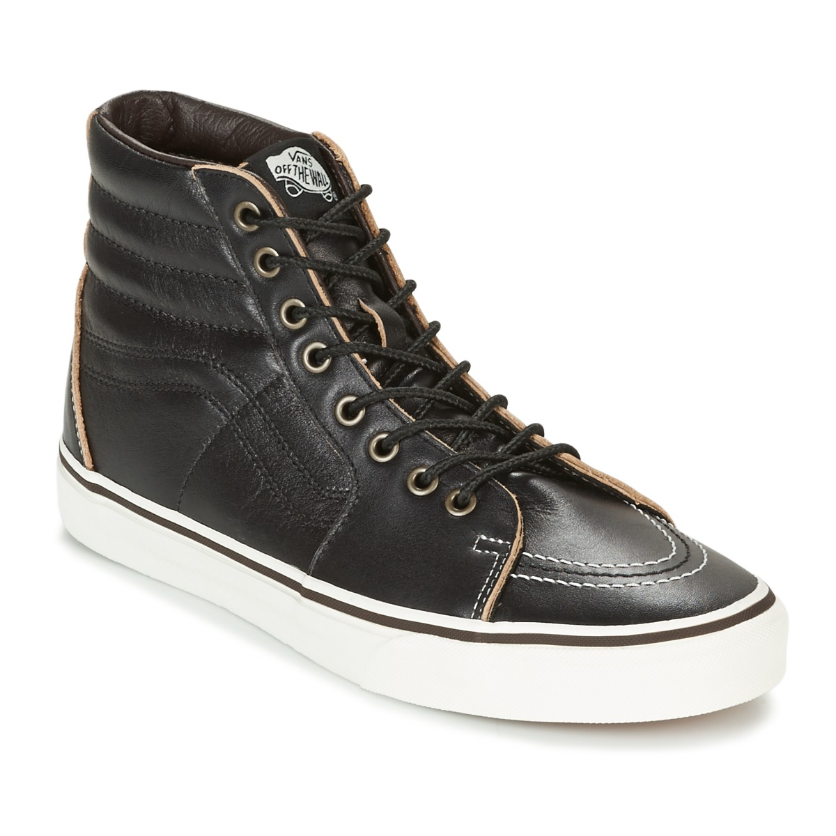 vans sk8 hi noir pas cher baskets homme spartoo ventes pas. Black Bedroom Furniture Sets. Home Design Ideas