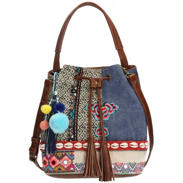 sac Desigual desigual cr marron 39 39 Sac rouge ateur Marron S1CxPqH