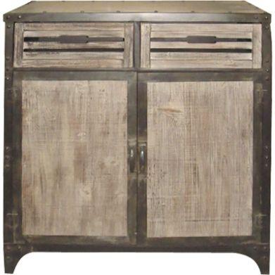 buffet la redoute buffet aubry gaspard 2 portes 2. Black Bedroom Furniture Sets. Home Design Ideas