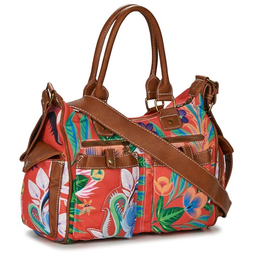 Desigual LIANA LONDON MEDIUM Marron / Rouge