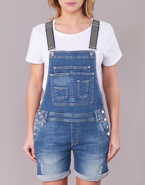 Pepe jeans ABBY DESTROY Bleu Medium