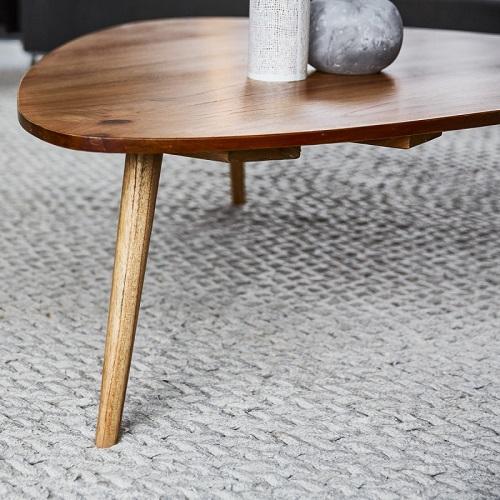 Table basse en bois de mindy 120 oslo table basse bois - Table basse en bois pas cher ...