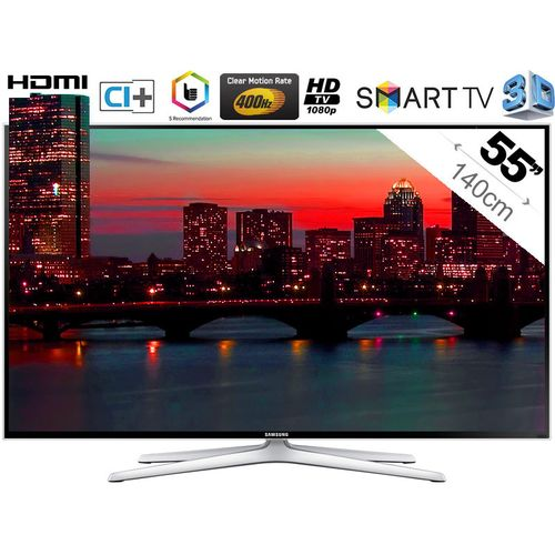 samsung ue55h6400 t l viseur led tv led pas cher rue du commerce ventes pas. Black Bedroom Furniture Sets. Home Design Ideas