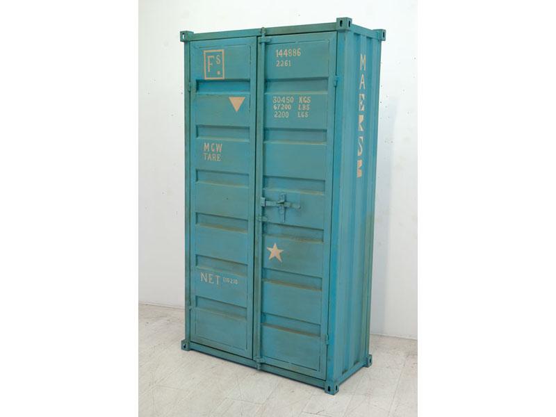 armoire usinedeco promo armoire offshore en m tal prix 1 399 00 euros ventes pas. Black Bedroom Furniture Sets. Home Design Ideas