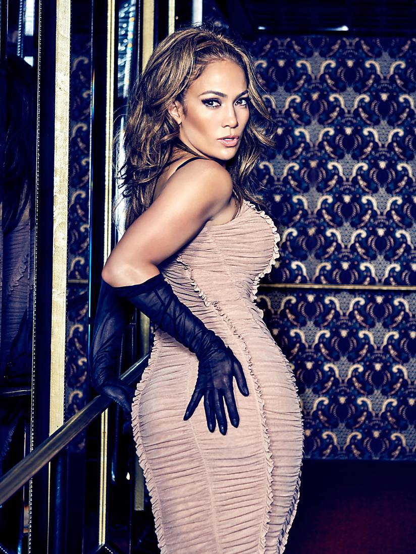 ROBE À MAILLE EN STRETCH MARCIANO Jennifer Lopez Guess