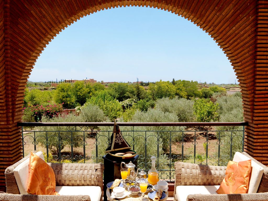 Abritel Location Marrakech - Villa Dar Moudar, villa exclusive avec grand jardin