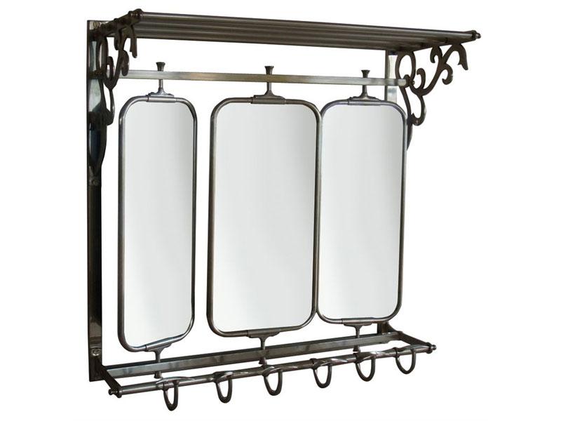 Miroir usine deco promo miroir officine en m tal prix Miroir usine deco