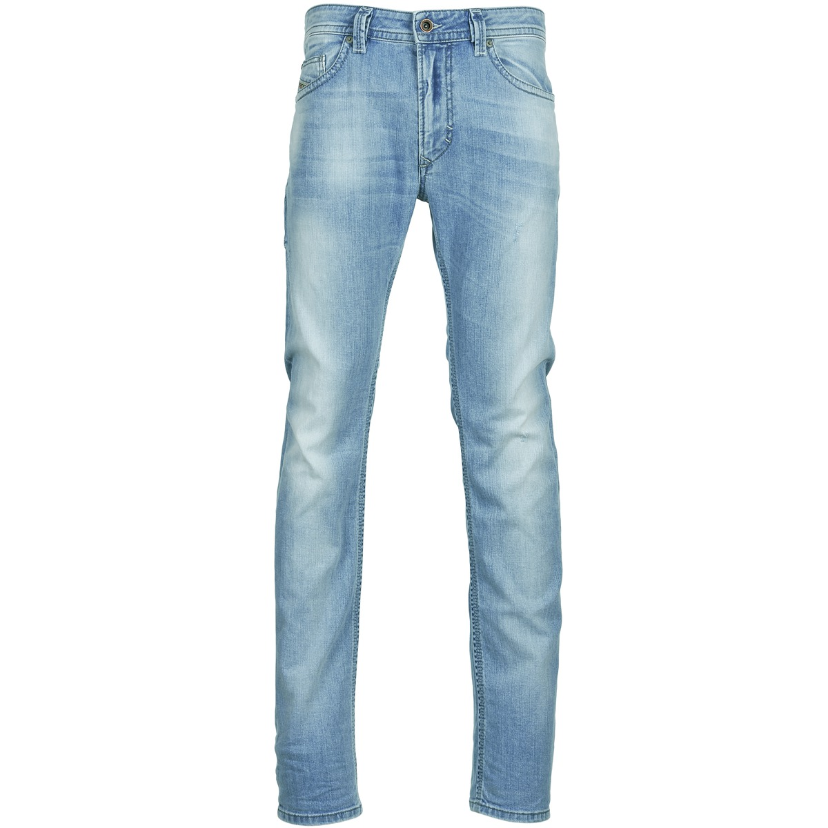 jeans slim diesel thavar bleu clair jeans homme spartoo. Black Bedroom Furniture Sets. Home Design Ideas