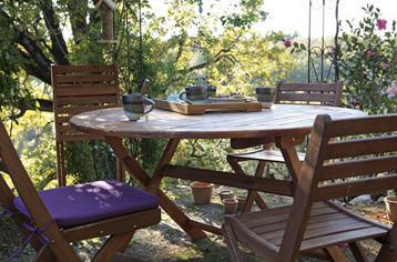 Salon de jardin porto en acacia salon de jardin leroy - Promotion salon de jardin leroy merlin ...