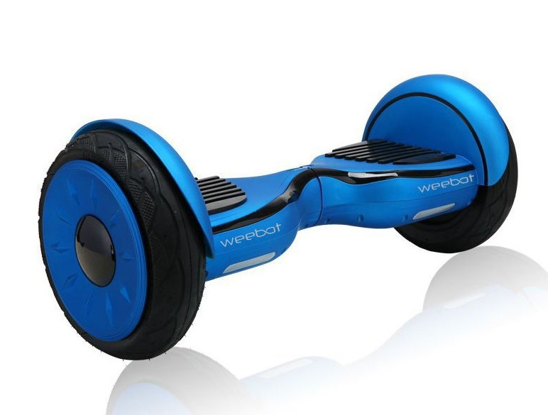 "Weebot 4X4 XE Blue Roues 10"" Hoverboard - Hoverboard Boulanger"