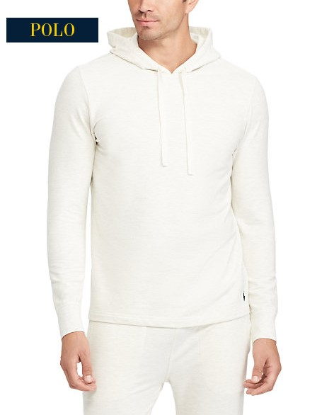 Sweat à capuche en molleton léger Ralph Lauren - Sweat Homme Ralph Lauren