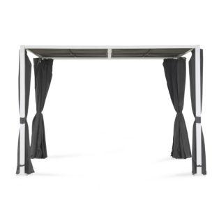 pergola grise sunset glissi re gris pergola alin a ventes pas. Black Bedroom Furniture Sets. Home Design Ideas