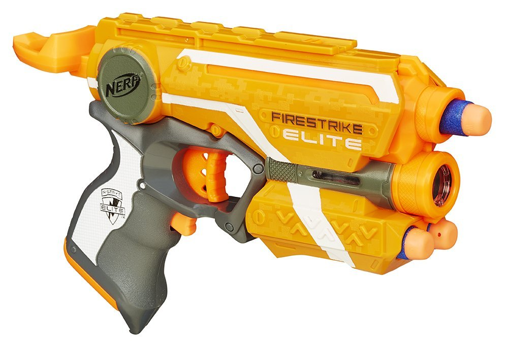 Nerf - Firestrike - Jeu de Plein Air - Elite, Jeu pas cher Amazon