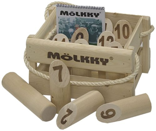 Tactic - 52501 - Jeu de Plein Air - Mölkky version luxe