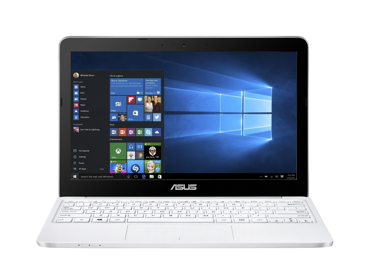 asus e200ha fd0080ts pc portable 11 6 39 blanc pc portable. Black Bedroom Furniture Sets. Home Design Ideas