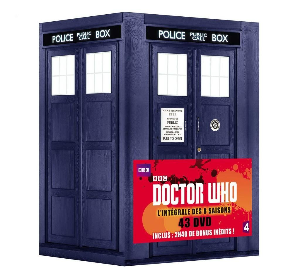 COFFRET DOCTOR WHO - L'INTEGRALE des 8 saisons