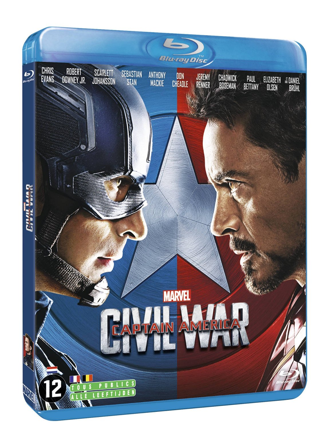 Blu-ray Captain America : Civil War, Blu-ray pas cher Amazon