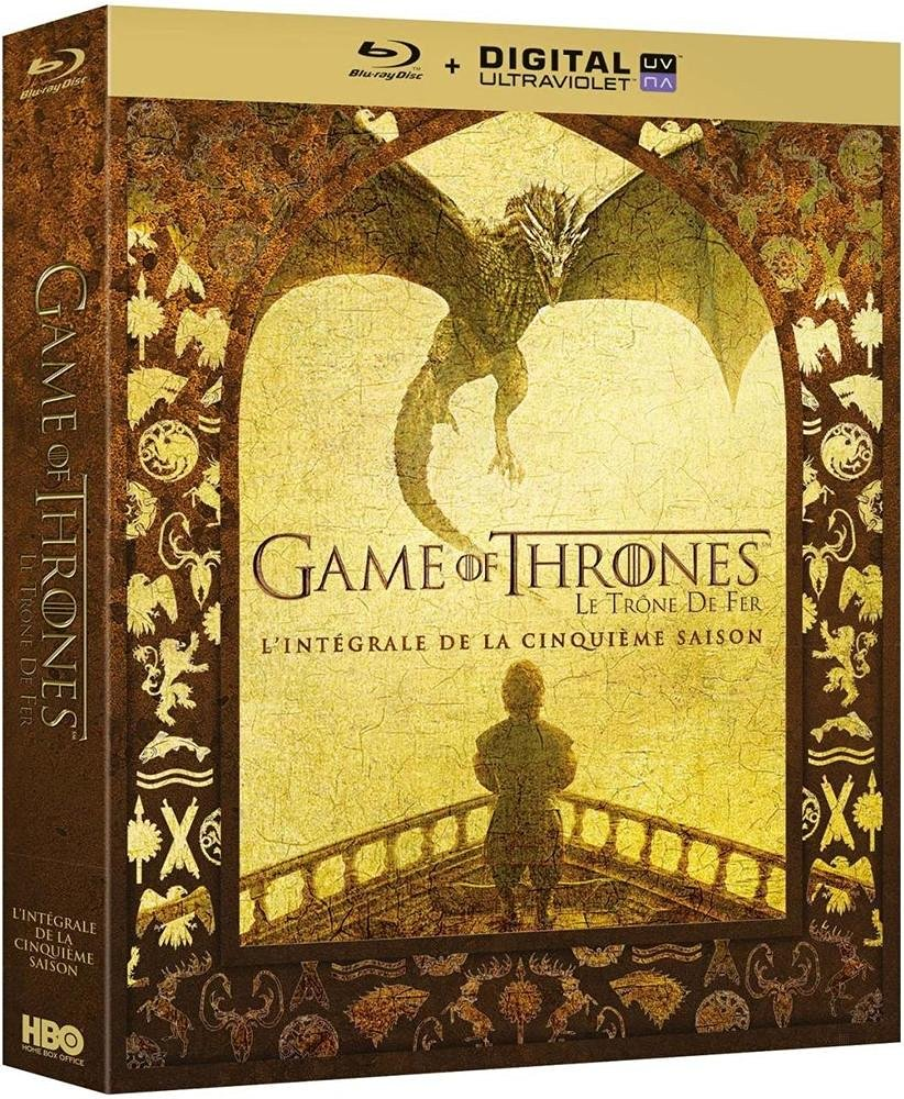 Game of Thrones - Saison 5 [Blu-ray + Copie digitale], Blu-ray pas cher Amazon