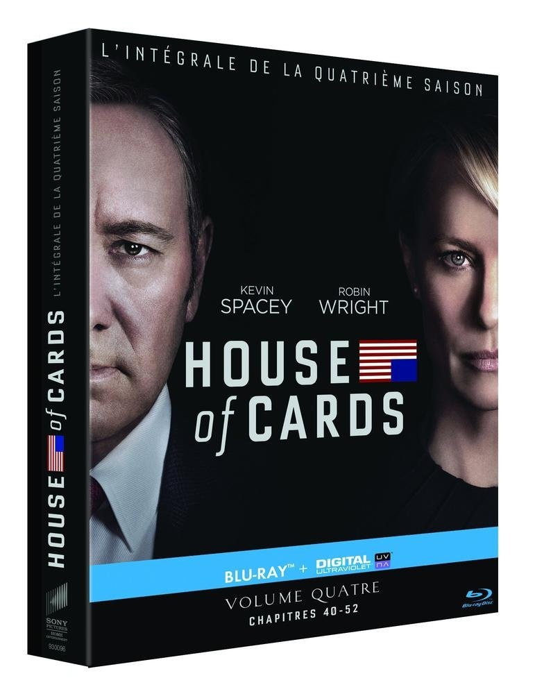 House of Cards - Saison 4 [Blu-ray + Copie digitale]