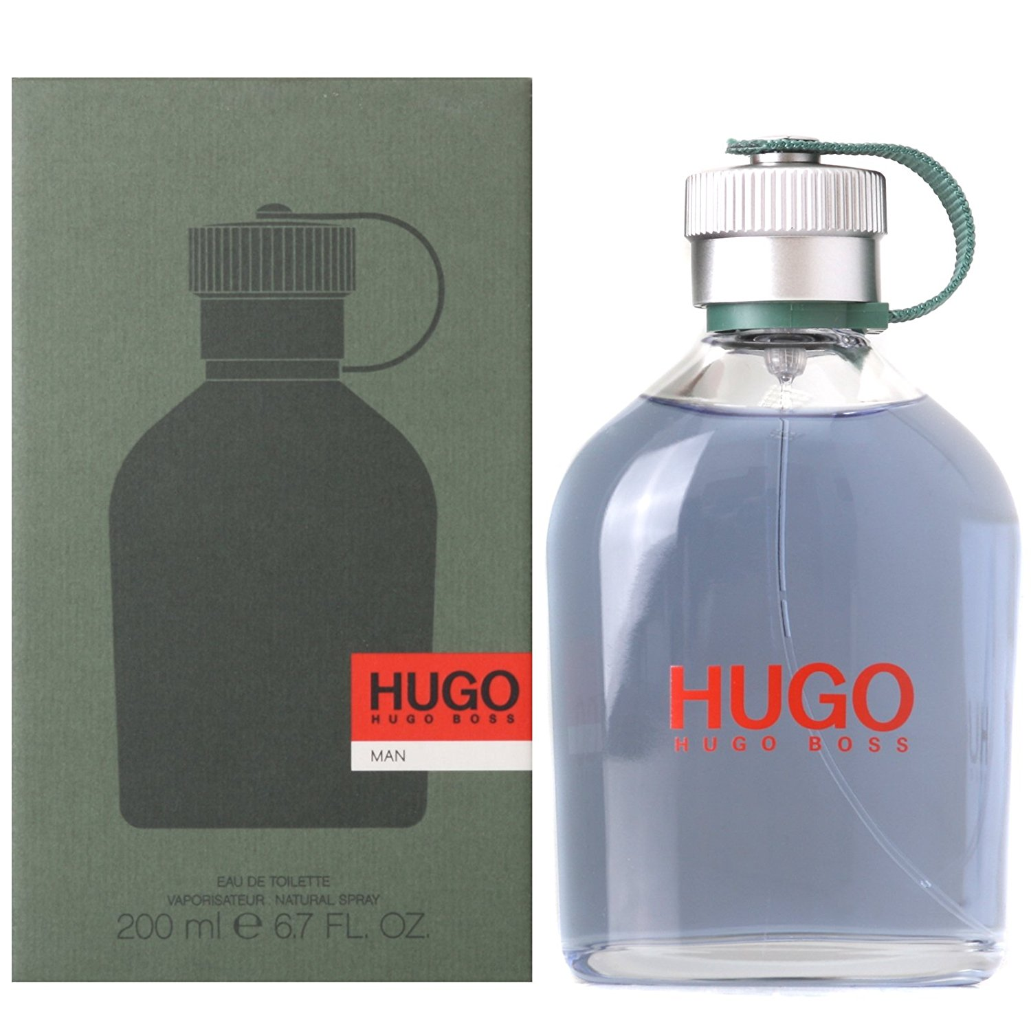 Hugo Man Eau de Toilette 200 ml, Parfum pas cher Amazon