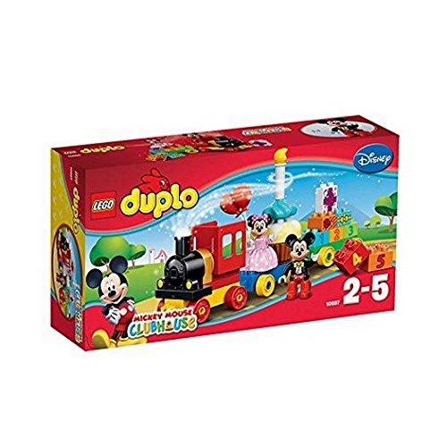La Parade D 39 Anniversaire De Mickey Et Minnie Jeu De Construction Lego Jeu Pas Cher Amazon
