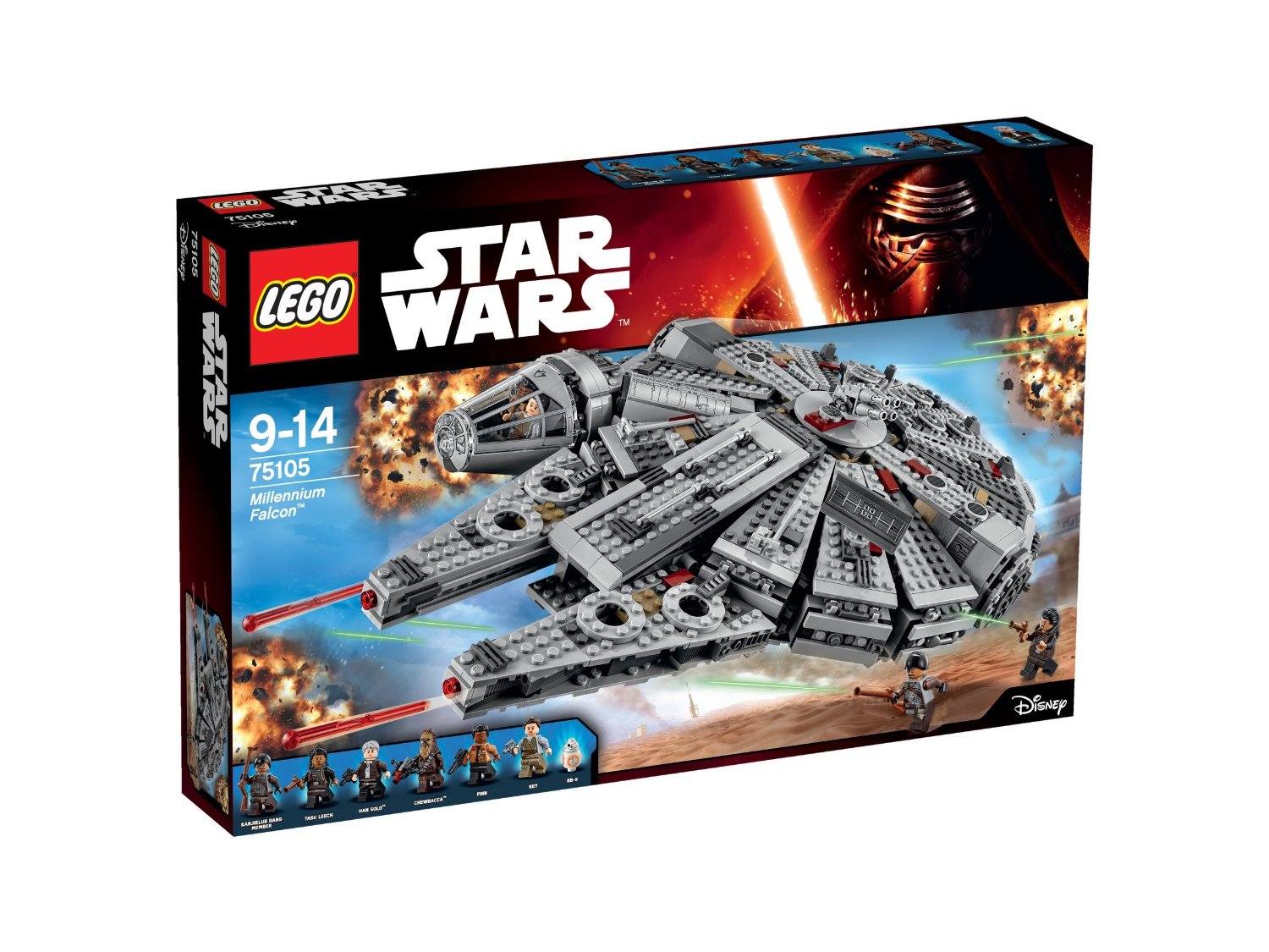 LEGO Star Wars - 75105 - Jeu De Construction - Millennium Falcon