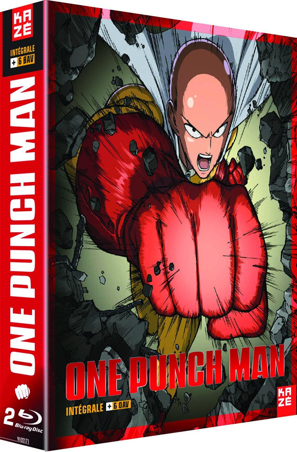 Intégrale One Punch Man -  2 BluRay Collector [Blu-ray]