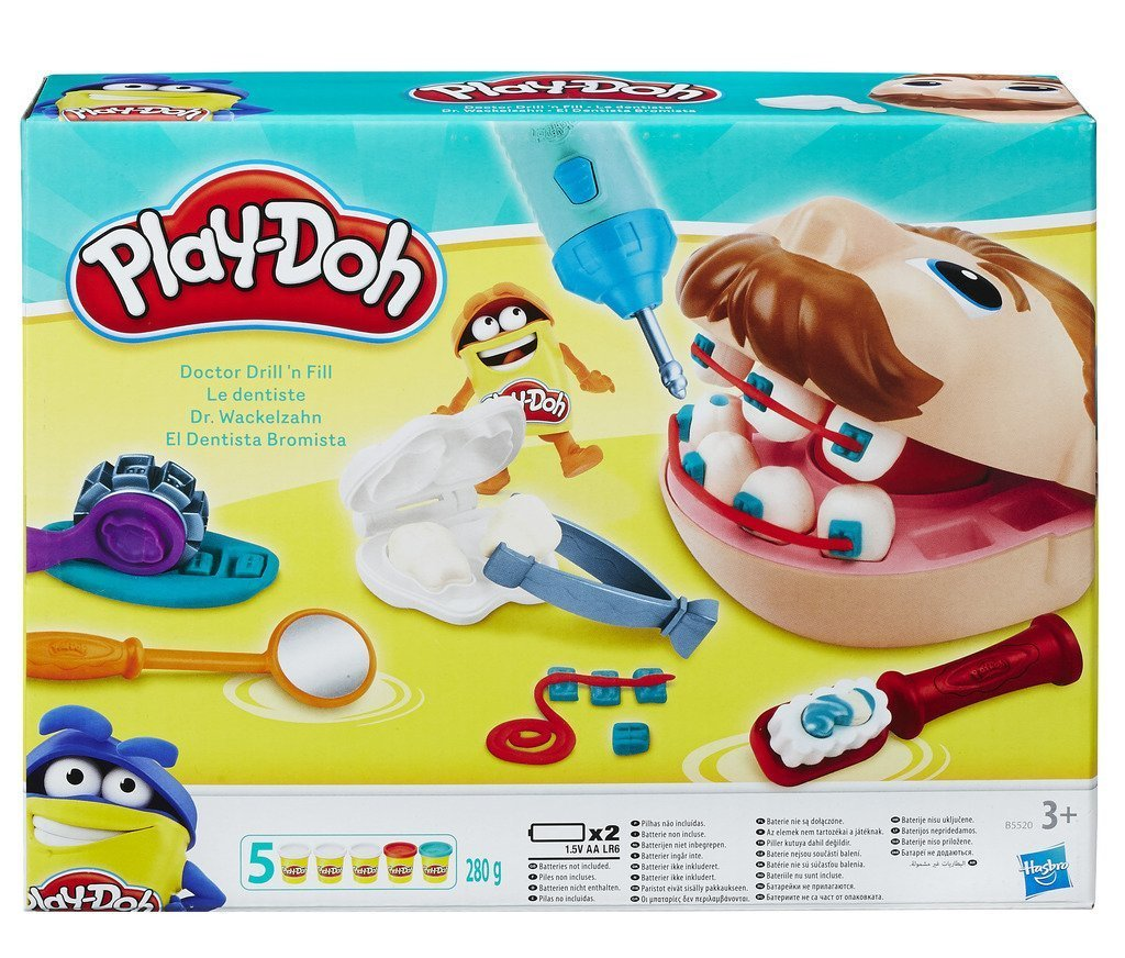 Playdoh - Le Dentiste, Jeu pas cher Amazon