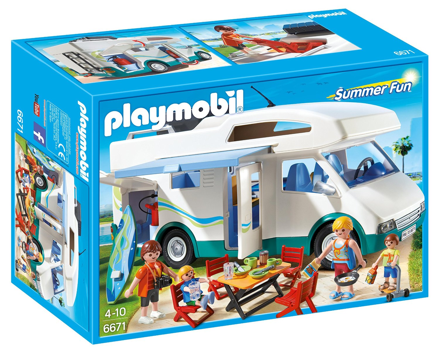 Playmobil - Famille avec camping-car