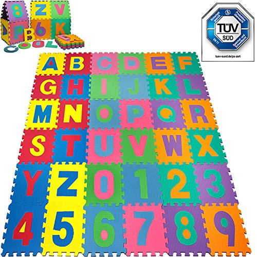 puzzle tapis mousse b b alphabet et chiffres puzzle. Black Bedroom Furniture Sets. Home Design Ideas