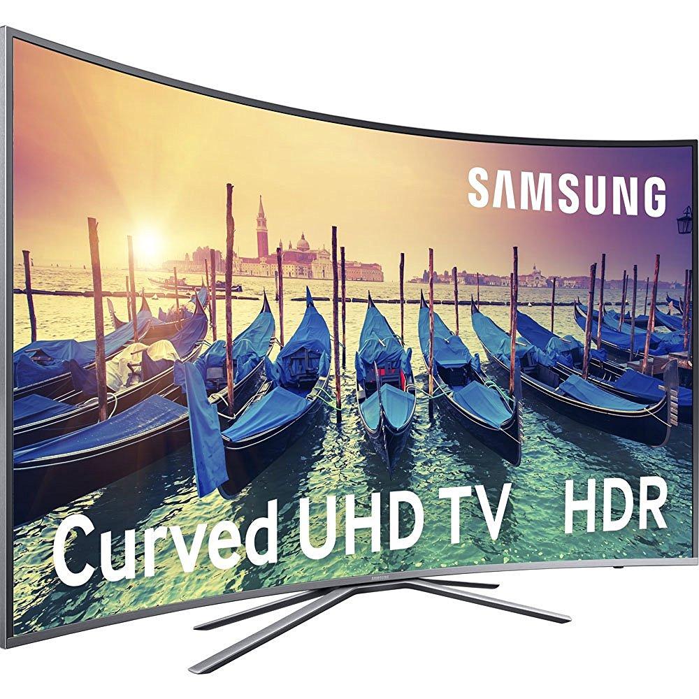 tvc samsung 49 led ue49ku6500ux courb tv pas cher amazon ventes pas. Black Bedroom Furniture Sets. Home Design Ideas