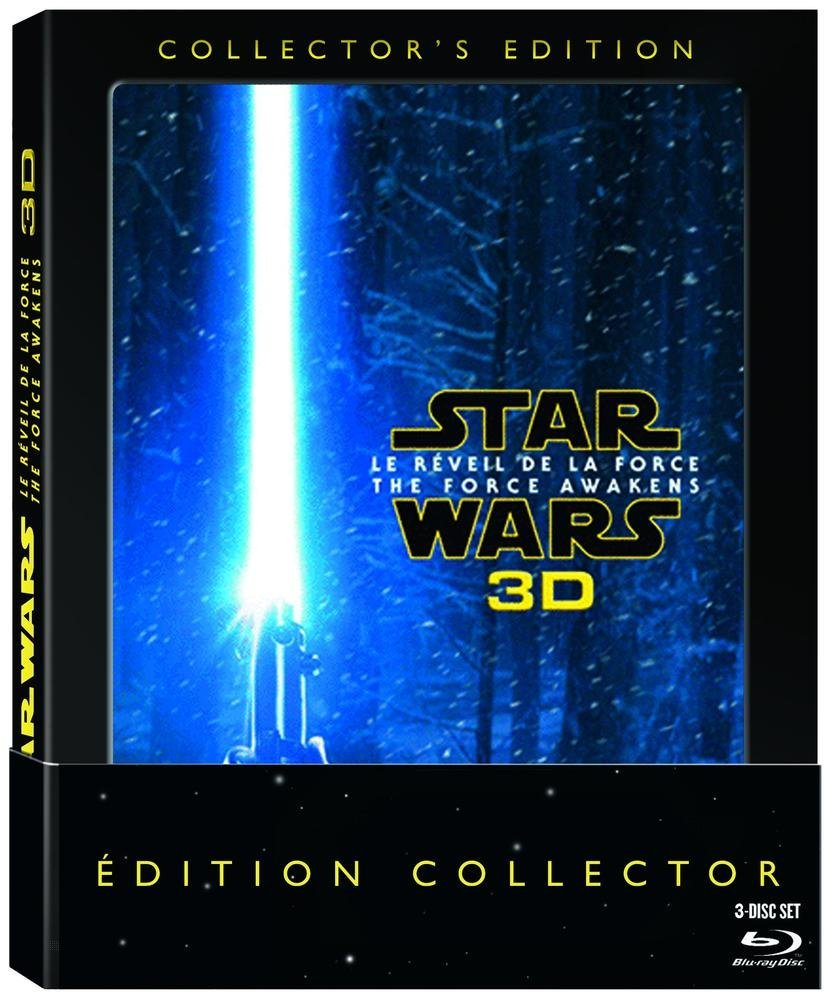 Star Wars : Le Réveil de la Force [Édition Collector Blu-ray 3D], Blu-ray pas cher Amazon