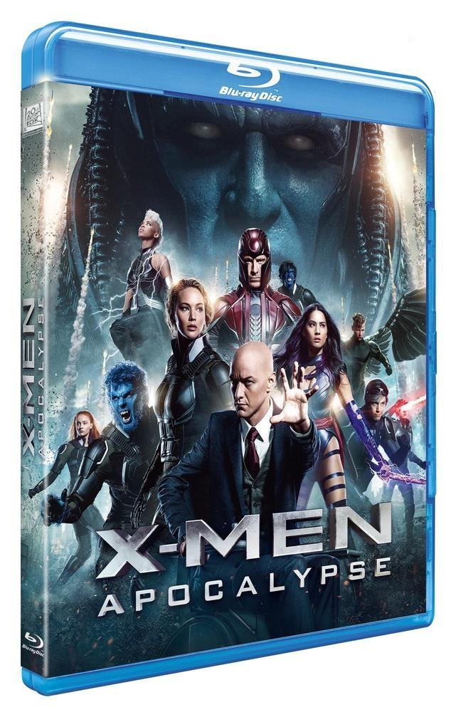 Blu-ray X-Men : Apocalypse, Blu-ray pas cher Amazon