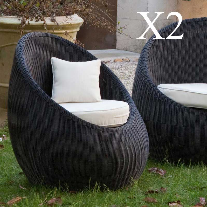 fauteuil de jardin delamaison fauteuil bas de jardin. Black Bedroom Furniture Sets. Home Design Ideas