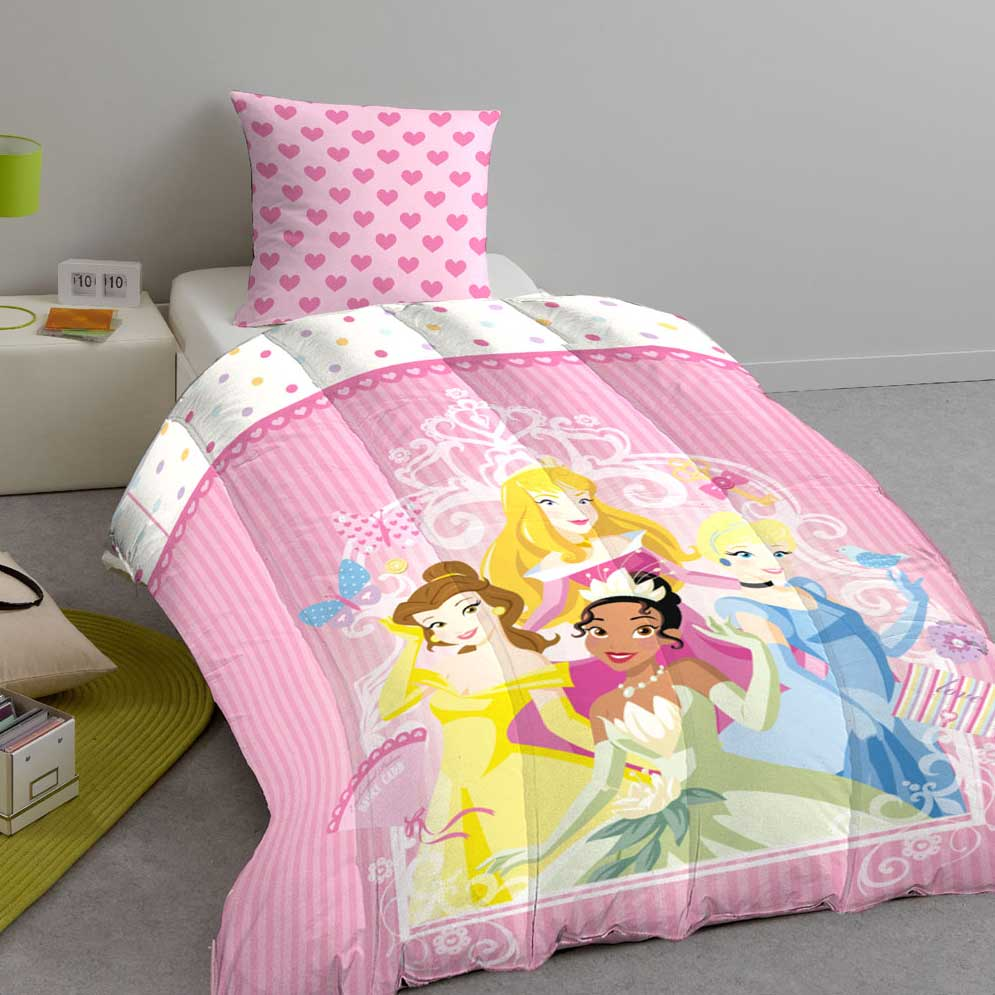 couette delamaison couette enfant imprim e double face princesses disney ventes pas. Black Bedroom Furniture Sets. Home Design Ideas