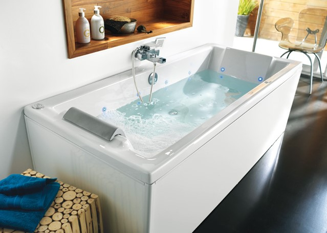 Baignoire 170 x 75 cm Music & Light - Castorama