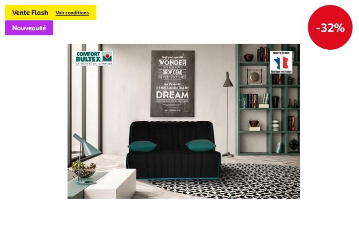 Banquette BZ LALI BULTEX - Auchan