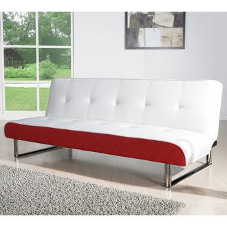 banquette clic clac design blanc teen axe canap clic clac delamaison ventes pas. Black Bedroom Furniture Sets. Home Design Ideas