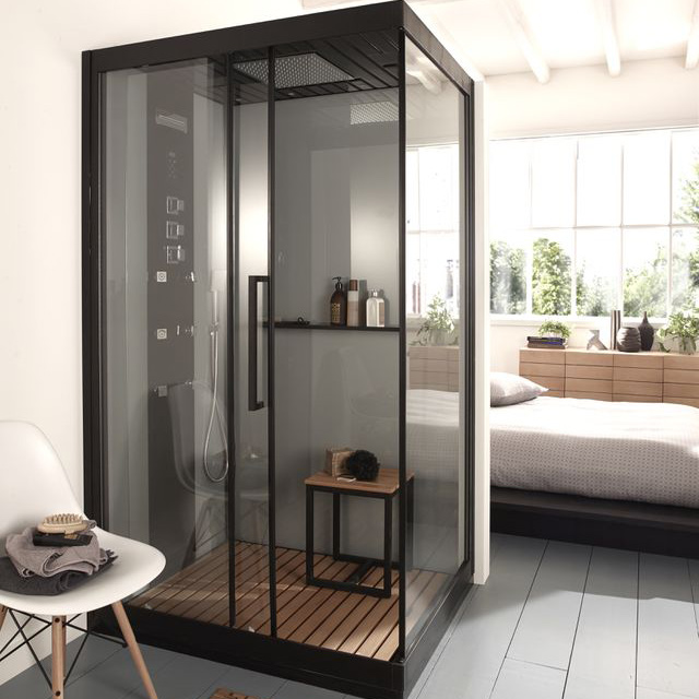 cabine de douche izaro pas cher cabine de douche castorama ventes pas. Black Bedroom Furniture Sets. Home Design Ideas