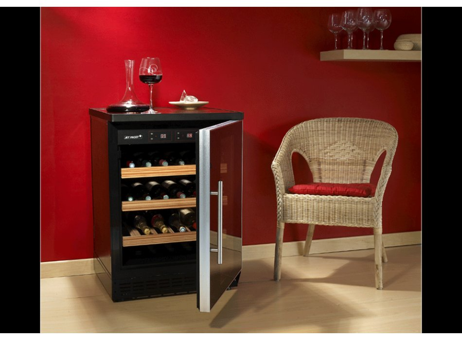 cave vin vente unique promo cave vin 50 bouteilles prix 309 euros vente. Black Bedroom Furniture Sets. Home Design Ideas