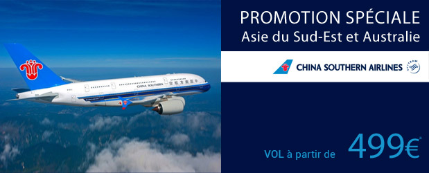 Promo Vols China Southern Airlines Go Voyages